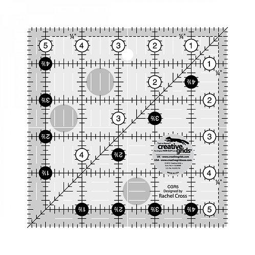 "Creative Grids Ruler 5.5"" Square"