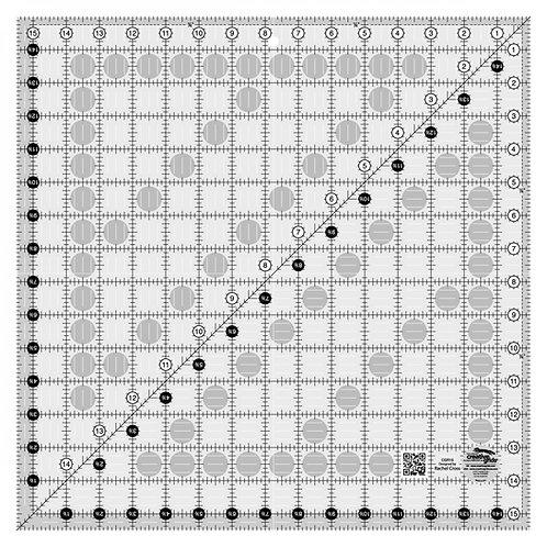 "Creative Grids Ruler 15.5"" Square"