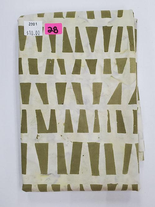 Batik # 28 - Geometric Design