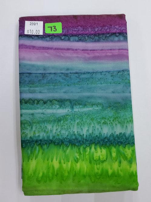 Batik # 73 - Multicolor