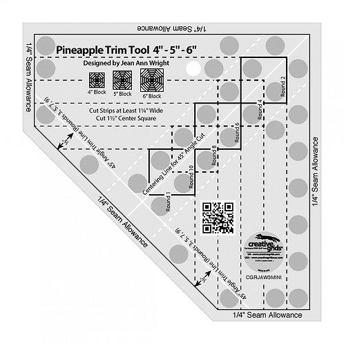 Creative Grids Ruler Pineapple Trim Tool Mini