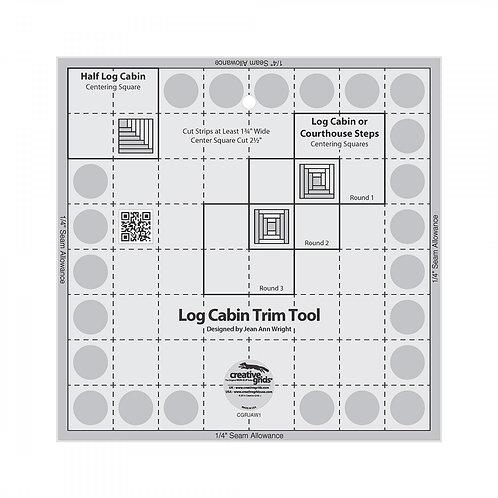 "Creative Grids Ruler Log Cabin Trim Tool 8"""