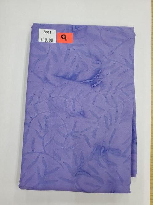 Batik # 9 - Purple With Vines
