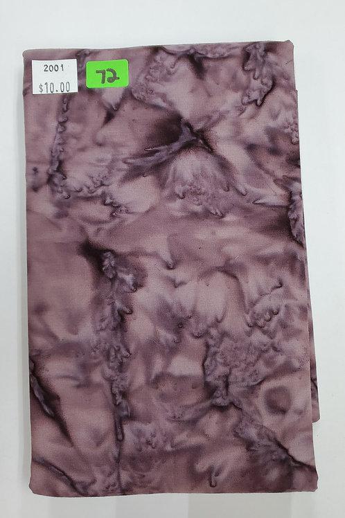 Batik # 72 -Purple/Brown