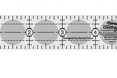 "Creative Grids Ruler 1"" X 6"""