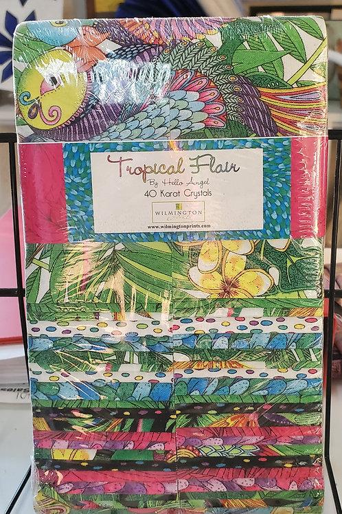 """Tropical Flair 2.5"""" Strip Set"""