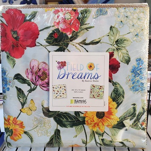 """Field of Dreams 10"""" Squares Layer Cake"""