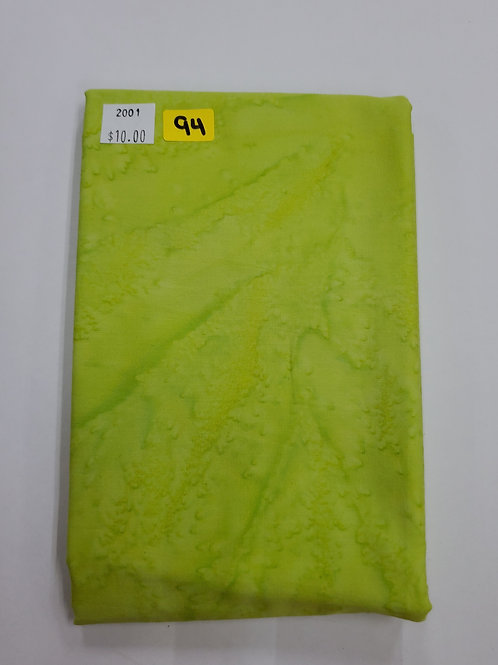Batik # 94 - Light Green