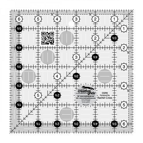 "Creative Grids Ruler 6.5"" Square"
