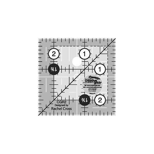 "Creative Grids Ruler 2.5"" Square"