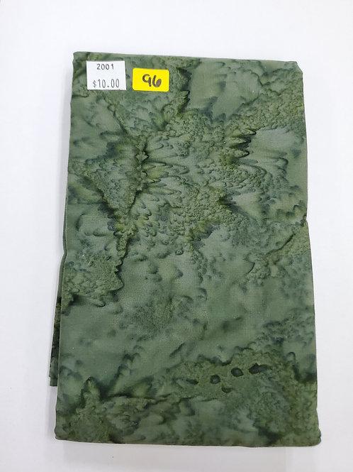Batik # 96 - Green