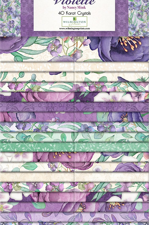 """Violette 2.5"""" Strips 40 pcs"""