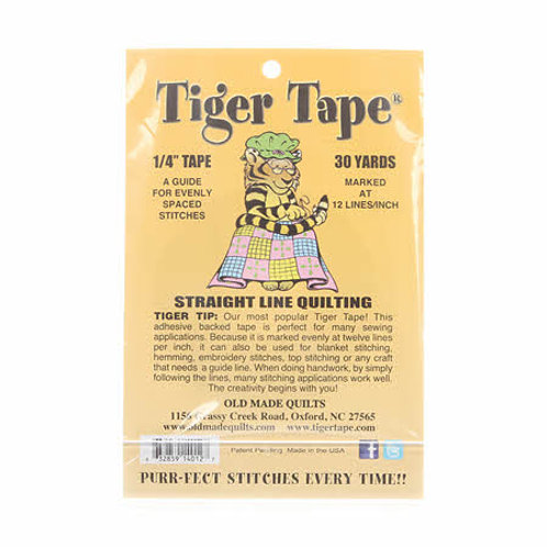 Tiger Tape 12 Marks Inch