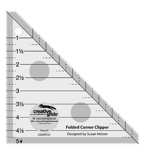 Creative Grids Ruler Folded Corner Clipper Tool