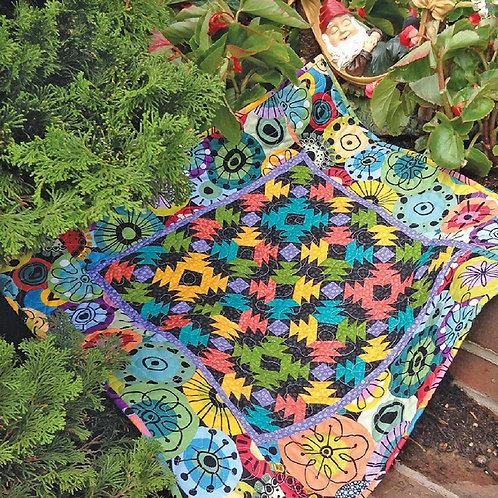 Petite Pineapple Garden Cut Loose Press