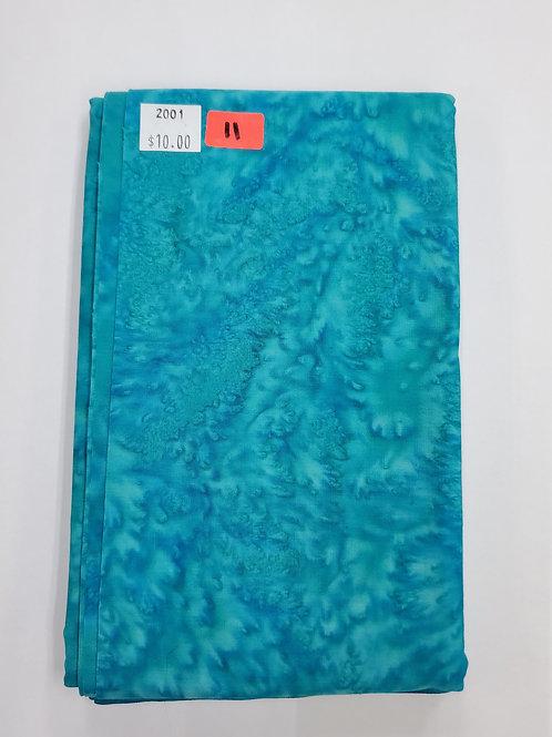 Batik # 11 -Teal