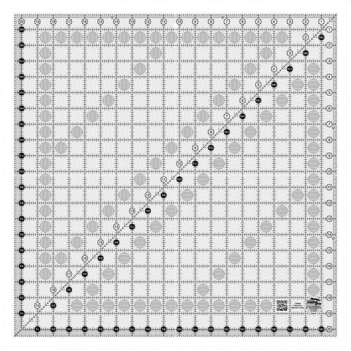 "Creative Grids Ruler 20.5"" Square"