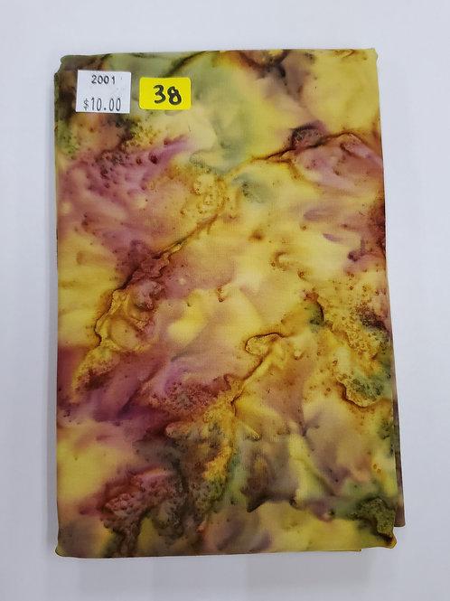 Batik # 38 -Yellow Mix