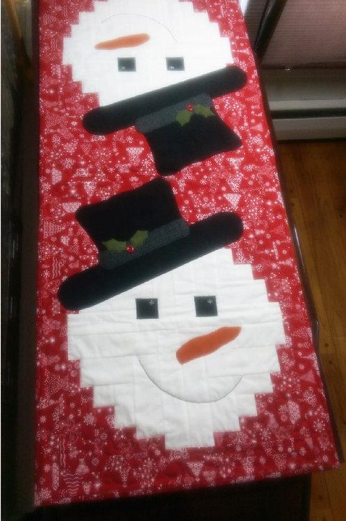 Snowman Runner Cut Loose Press