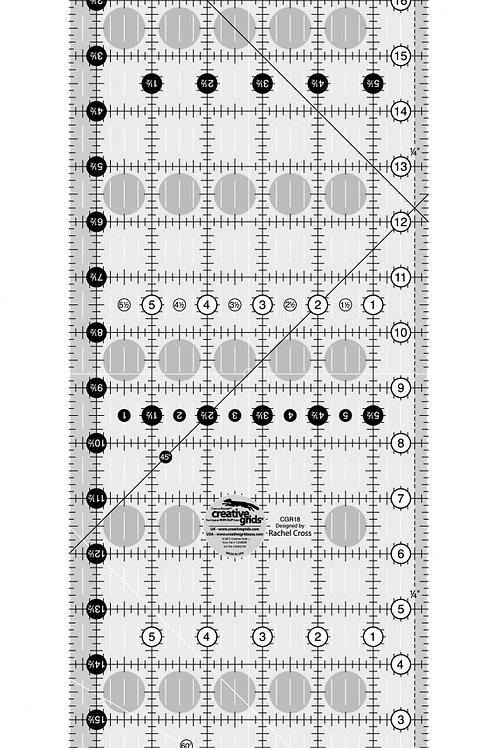 """Creative Grids Ruler 6.5"""" X 18.5"""""""