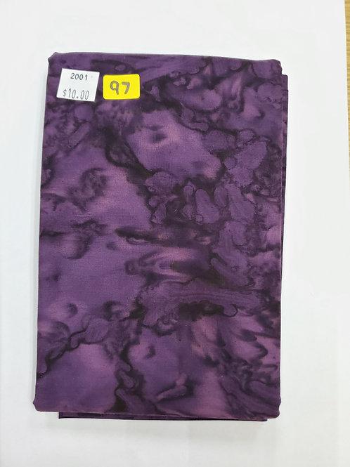 Batik # 97 - Purple
