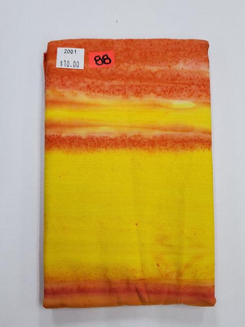 Batik # 88 - Sunset