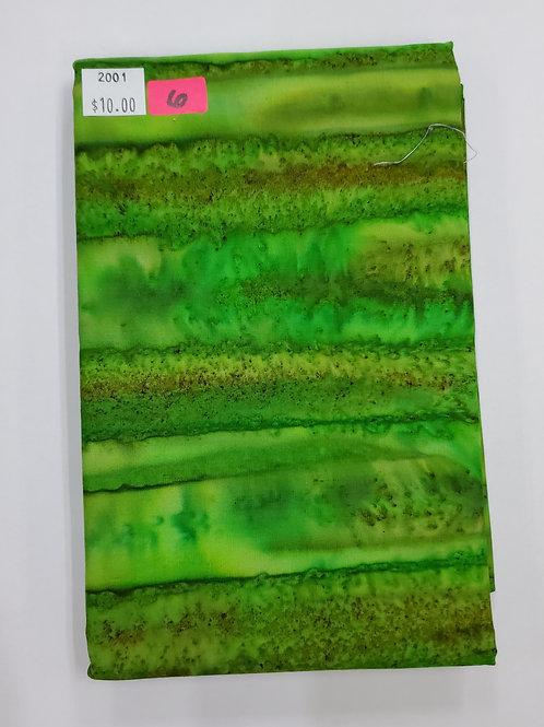 Batik # 6 - Green Mix