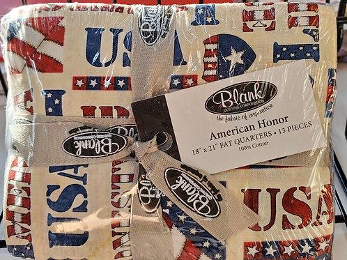 American Honor Fat Quarter Bundle 13 pcs