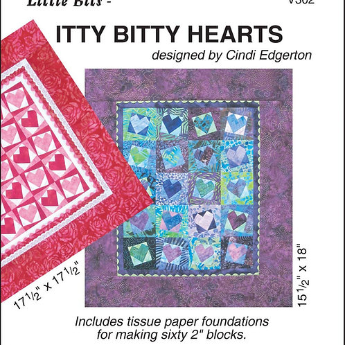 Little Bits Itty Bitty Hearts