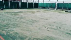 Iniziati i lavori di rifacimento del campo polifunzionale esterno