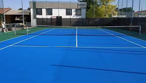 Sono terminati i lavori di rifacimento del campo da Tennis