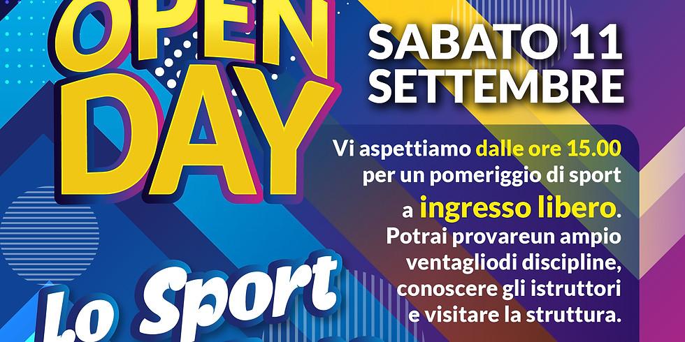OPEN DAY - LO SPORT IN FESTA