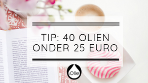 40 olien onder 25 euro