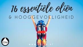16 essentiele olien & hooggevoeligheid