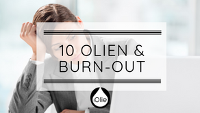 10 essentiele olien & een burn-out