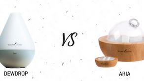 Dewdrop vs Aria diffuser