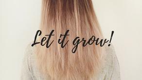 Wow! Mijn haar groeit!