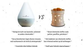 Diffuser vs Geurbrander