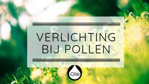 Verlichting bij kriebels door pollen!