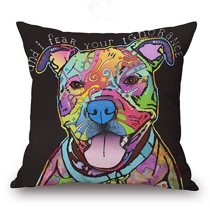 (Pit Smile) Pillow Cover