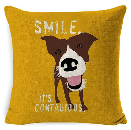 Pillow Cover (Smile)
