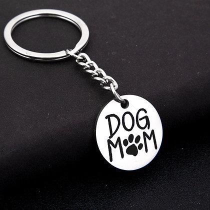 Dog Mom Keychain