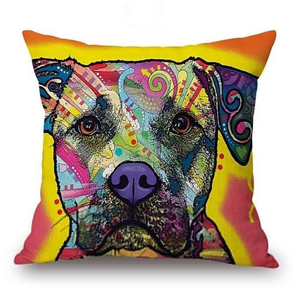 (Dog) Pillow Cover