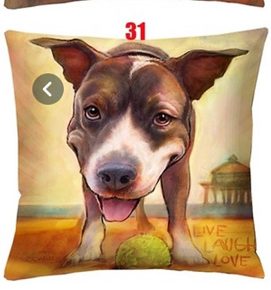 Dog Pillow Cover