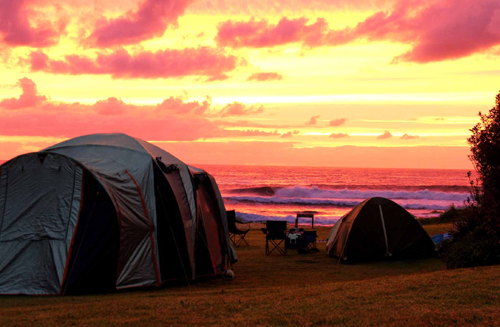 tent camping gokarna