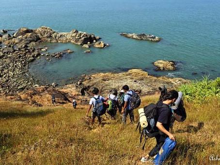 Trekking trails in Gokarna!