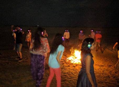 New year at Gokarna!