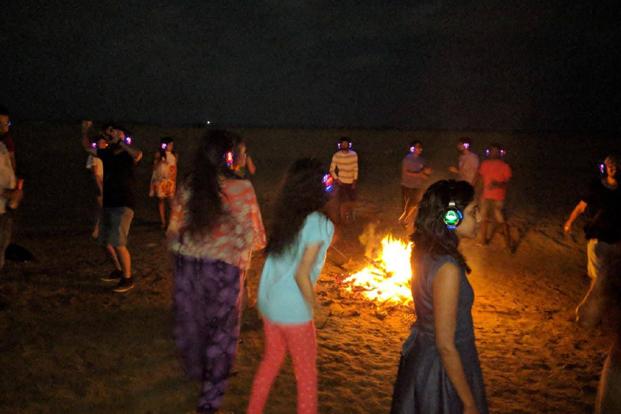 New Year In Gokarna