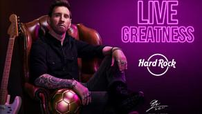 Celebración del 50 aniversario de Hard Rock contará con la participación de Messi