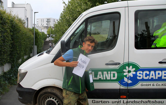 Ausbildung zum Gärtner bei Landscape